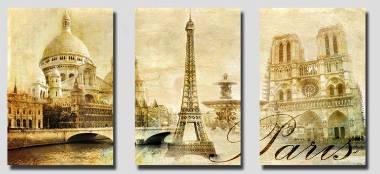 Раскраски по номерам триптих